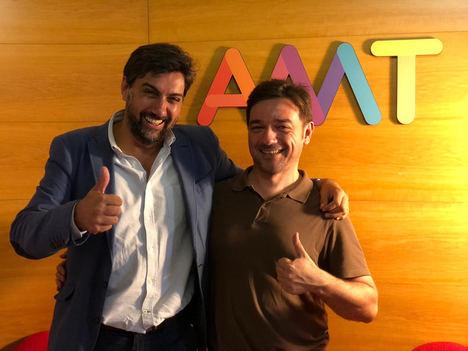Álvaro Montoliu, presidente y fundador de AMT, (izqda.) y Fernando Durán.