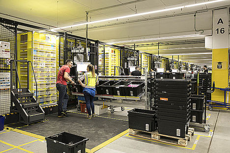 Amazon contratará en España a más de 2.200 personas esta Navidad