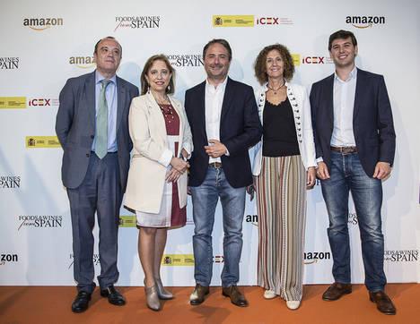 """Amazon e ICEX lanzan """"Alimentos y vinos de España"""", una tienda online para exportar la gastronomía española"""