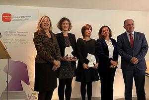 Entregados los premios XXI Empresaria y Directiva Navarra 2018 de AMEDNA/NEEZE