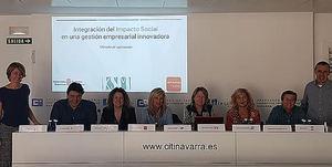 Empresas navarras acceden a un innovador estudio para la integración del impacto social en su gestión