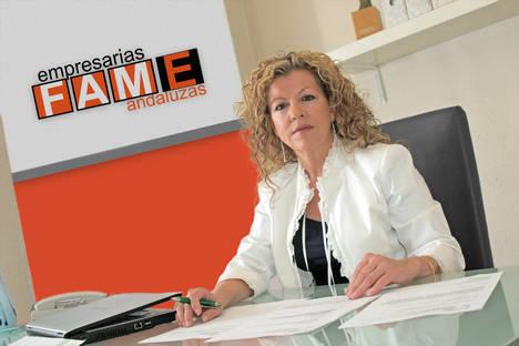 Ana Alonso, presidenta de la Federación Andaluza de Mujeres Empresarias.
