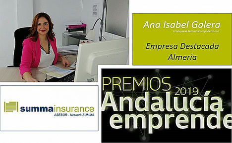 Ana Isabel Galera de Summa premiada como Empresaria Destacada