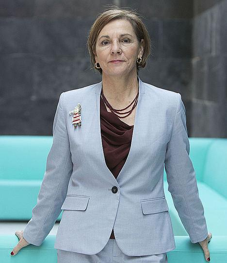 Ana Larrañaga, presidenta de  la Junta Directiva de Miembros Afiliados de la OMT.
