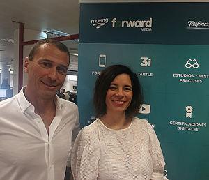 Ana Martín y Ricardo Urías, Forward Media.