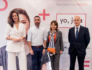Ana Vázquez, Francisco Polo, Isabel Lozano, Mario Lara.