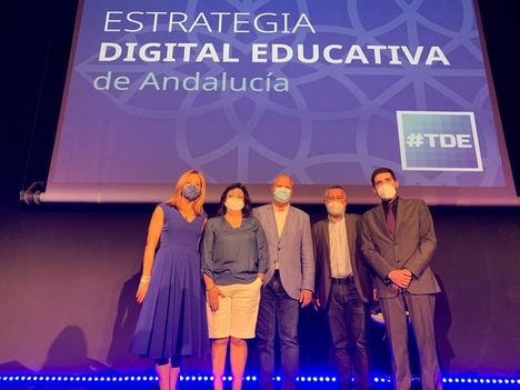 Andalucía se posiciona como referente en procesos de transformación digital educativa