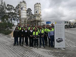 Anefhop exporta su sello de calidad Hormigón Expert a Ecuador