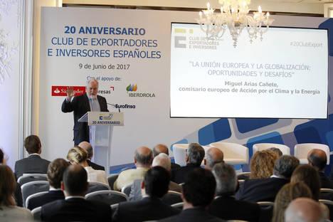 El Club de Exportadores e Inversores cumple veinte años de apoyo al sector exterior español