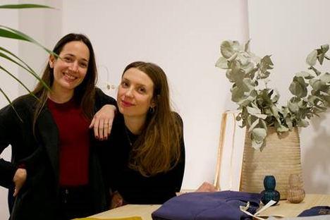 Anna Cañadell y Alba García, fundadoras de BCOME.