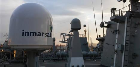 Satlink instala el primer sistema de comunicaciones de banda ancha vía satélite en un buque de la Armada Española