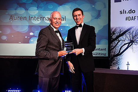 Auren gana el premio 'Empresa sostenible del año' otorgado por el International Accounting Bulletin