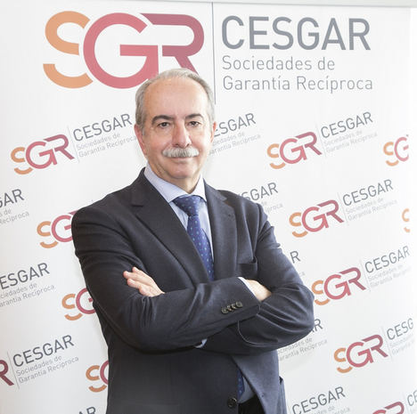 Antonio Couceiro, presidente de SGR-CESGAR.