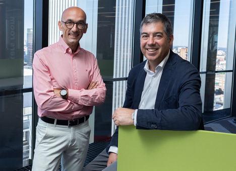 Antonio Fernández, CEO de Walmeric y Martín Migoya, CEO y co-fundador de Globant.