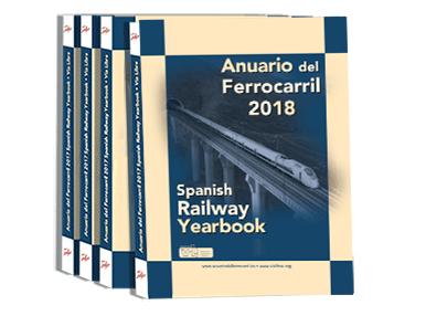 Publicado el Anuario del Ferrocarril -Spanish Railway Yearbook 2018