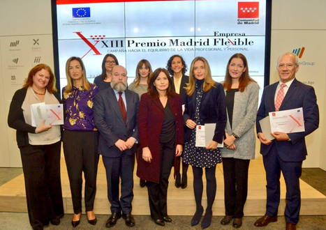 Aon recibe el Premio Madrid Empresa Flexible 2017