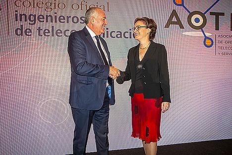 Aotec y el COIT colaborarán para promover la transformación digital de las zonas rurales
