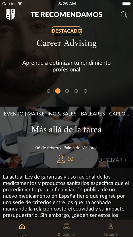 VASS Implanta Las Novedades Tecnologicas Del Portal Alumni IESE Para Mejorar La Comunicacion Centro