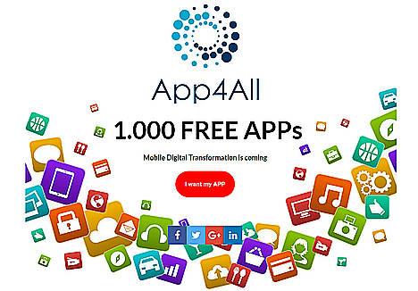 La tecnológica App4All regalará 1.000 APPs valoradas en 500.000€ durante el Mobile WorldCongress 2017