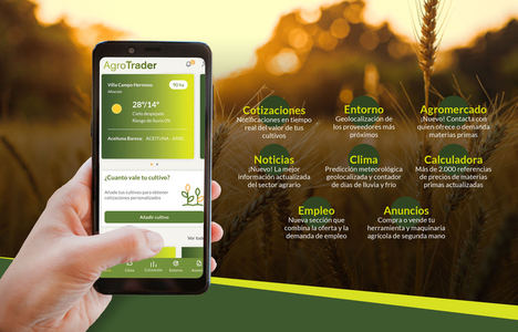 App Agrotrader, referencia digital en el sector agrícola, lanza nuevas funcionalidades