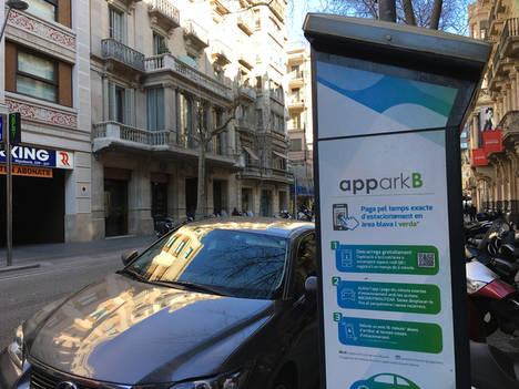 Barcelona es pionera en España en ofrecer un sistema de ayuda a la búsqueda de aparcamiento