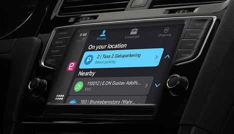Apple CarPlay suma la app de aparcamiento EasyPark a sus prestaciones