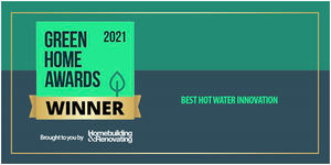 """Ariston se alza con el premio a 'Mejor producto en innovación en agua caliente"""" en los Green Home Awards 2021"""