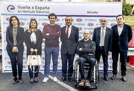 Arranca la segunda edición de la vuelta a España en vehículo eléctrico