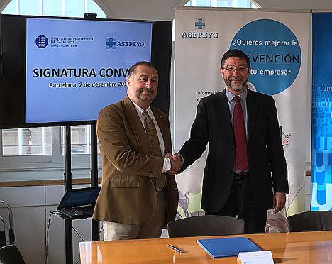 Asepeyo firma un acuerdo con la Universidad Politécnica de Cataluña para realizar actividades de investigación e innovación