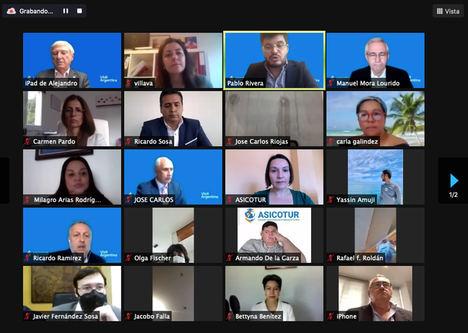 Asicotur organiza una jornada donde un representante de la Comisión Europea en materia de justicia, da a conocer el marco jurídico del certificado verde digital