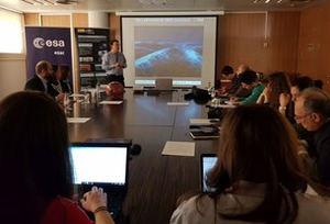 Asistentes durante la presentación en el CDTI.