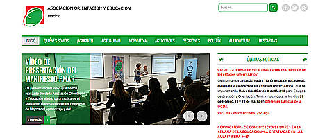La Asociación de Orientación y Educación de Madrid convoca los Premios Aula a la Orientación Educativa 2017, en AULA
