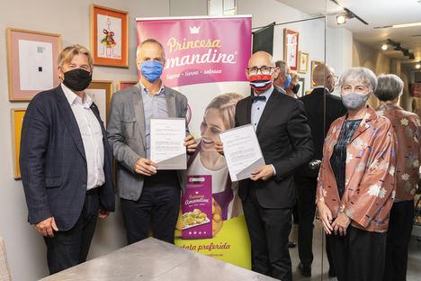 """Asociación Princesa Amandine y ACME acuerdo para la promoción de la """"reina de la patatas"""" en el mercado español"""