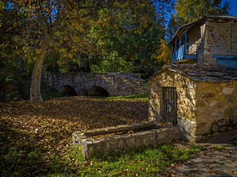 Astorga y Maragateria. Veldedo. Puente romano