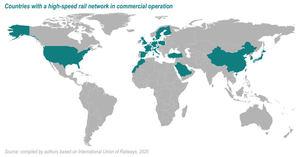 Ya disponible Atlas de la Alta Velocidad Ferroviaria en el mundo 2021