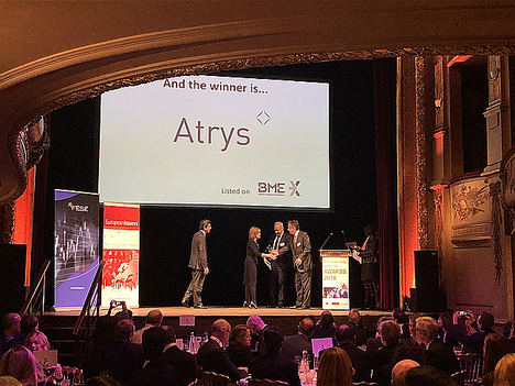 Atrys Health ganadora en los premios Small and MidCap Awards 2018 de la Comisión Europea