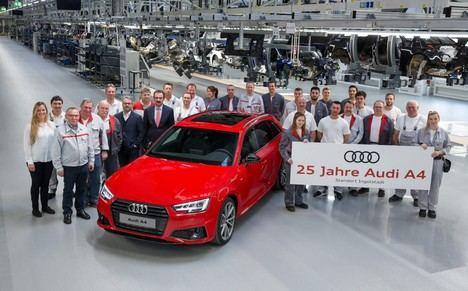 El Audi A4 cumple 25 años