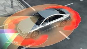 Escáner láser del nuevo Audi A8: visión periférica