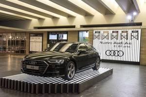El nuevo Audi A8, la gran estrella en el Festival de San Sebastián