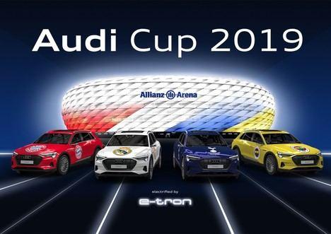 El Real Madrid disputará la Audi Cup 2019