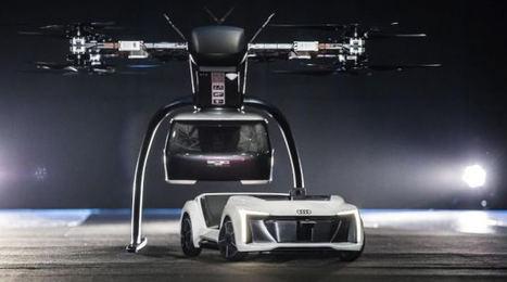 Audi, Italdesign y Airbus prueban su prototipo de taxi aéreo