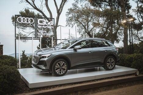 El Audi Q4 e-tron, protagonista en la XXI edición del Festival de Cap Roig