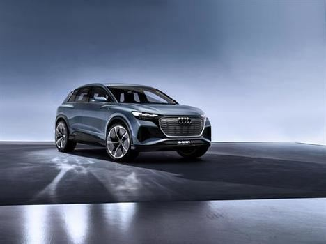 Audi Q4 e-tron concept, cuya versión de producción llegará a finales de 2020