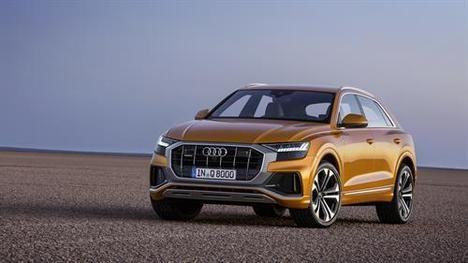 Audi Q8: impresionante