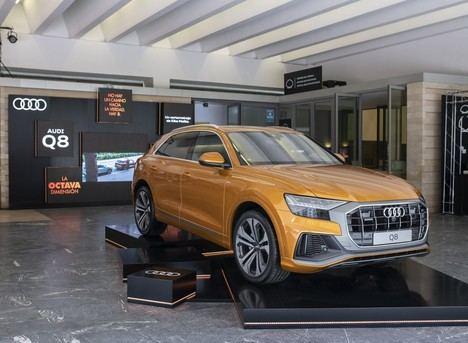 El nuevo Audi Q8 protagonista del Festival de San Sebastián