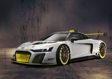 Nuevo Audi R8 LMS GT2