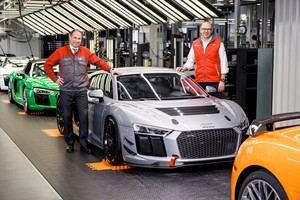Sale de fábrica la unidad número 50 del Audi R8 LMS GT4