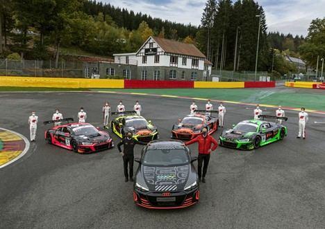 Audi R8 LMS y Audi RS e-tron GT prototype