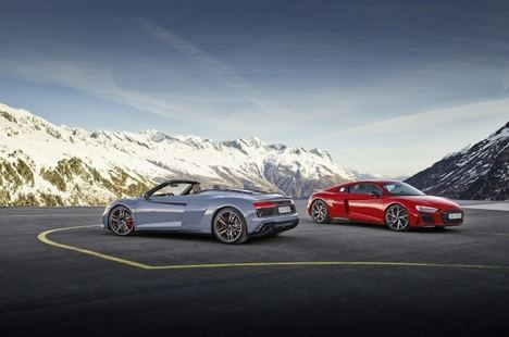 Impresionante Audi R8 V10 Performance RWD