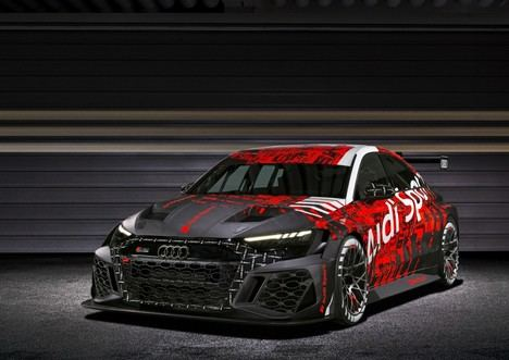 Audi RS 3 LMS: el nuevo vehículo de competición para el TCR
